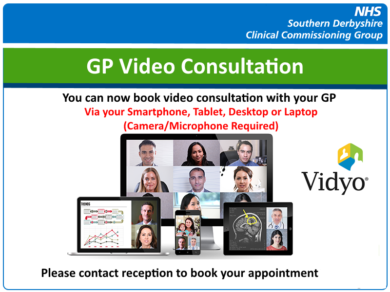 Video Consultations � New Pilot Service | Whitemoor Medical Centre